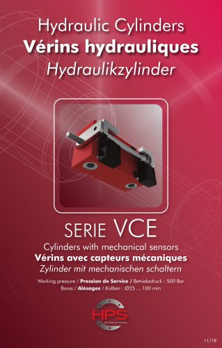 Hydraulic Cylinders SERIE VCE