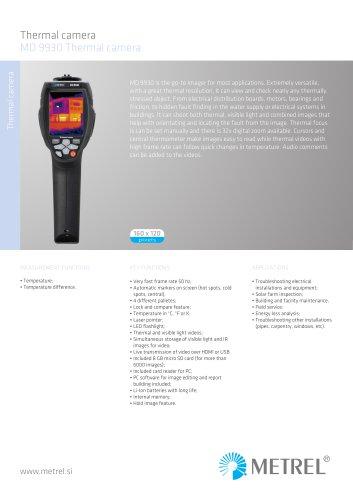 MD 9930 Thermal camera