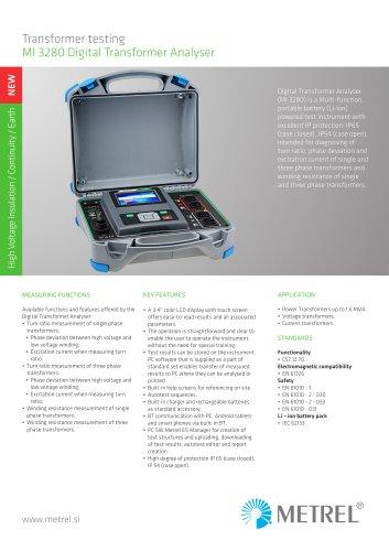 MI 3280 DT Analyser