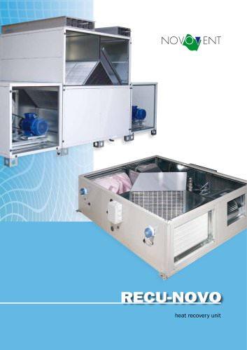 RECU-NOVO heat recovery units