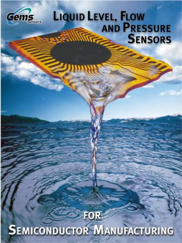 Gems Sensors & Controls Semiconductor Brochure