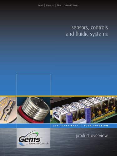 Sensors, Controls and Fluidic Systems