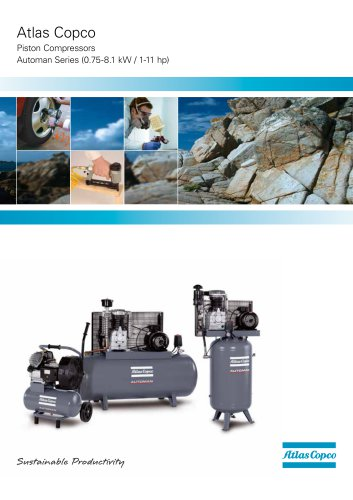 Atlas Copco Piston Compressors