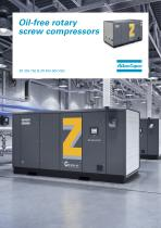 Oil-free rotary screw compressors ZR 300-750 & ZR 400-900 VSD