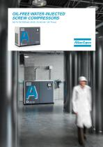 OIL-FREE WATER-INJECTED SCREW COMPRESSORS
