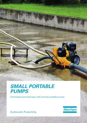 SMALL PORTABLE PUMPS