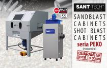 PEKO - ecnomical shot blasting cabinet from Sant-Tech