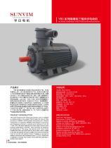 Three-phase motor YB3 series