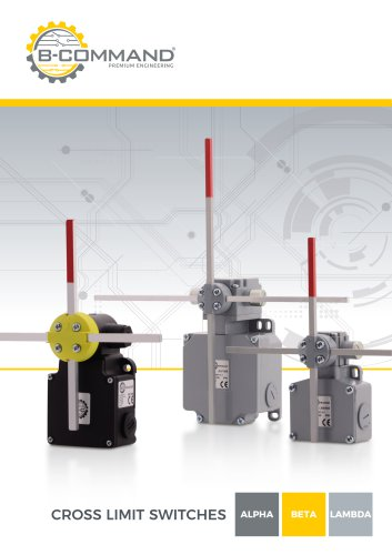 Cross Limit Switches B-COMMAND