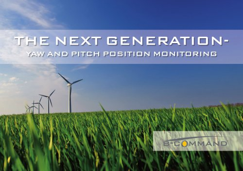 Geared Limit Switches for Wind Turbines