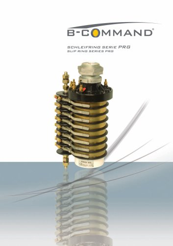 Slip Ring Series PRG B-COMMAND
