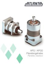APG / APGS Planetary Gearbox