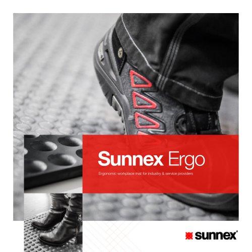 Sunnex Ergo Ergonomic workplace mat for industry & service providers
