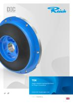 TOK Highly Flexible Coupling Optimised for Plug-in Connection