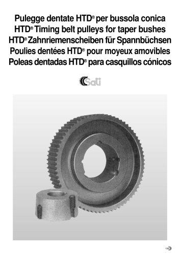 HTD Timing Belt Pulleys For Taper Bushes