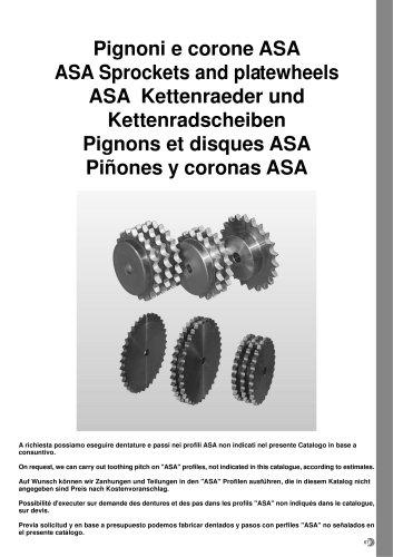 Sprockets - Plate wheels ASA