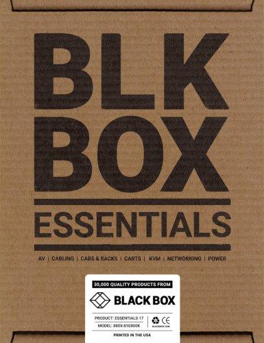 Black Box Essentials Catalog 2017