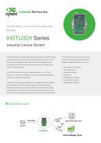 InHandNetworks InDTU324 CelllularModem