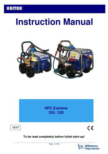 HPCE 520 INOX, 3 x 440V/60HZ