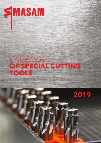 CATALOGUE OF SPECIAL CUTTING TOOLS