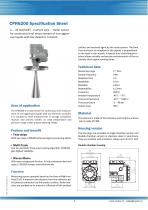 CPR6200 Specification Sheet