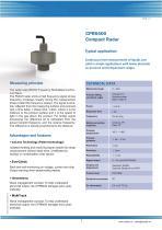 CPR6400 Compact Radar