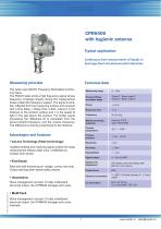 CPR6400 with Hygienic Antenna