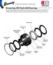 Browning® VER Style Ball Bearings
