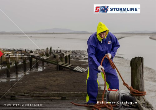 Stormline Commercial Fishing and Oilskins Clothing Catalogue