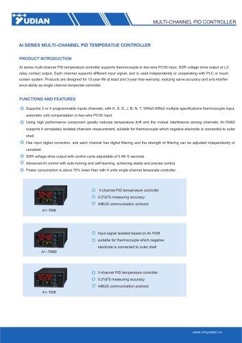 Yudian Multi Channel Controller AI-7028/AI-7048/AI-70482
