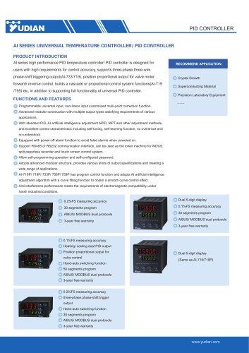 Yudian PID Controller AI-716/AI-716P/AI-719/AI-719P/AI-733/AI-733P/AI-756/AI-756P/AI-759/AI/759P