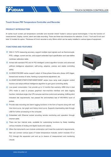 Yudian Touch Screen Controller AI-3556/AI-3556P/AI-3559/AI-3559P/AI-3756/AI-3756P/AI-3759/AI-3759P/AI-3956/AI-3956P/AI-3959/AI-3959P