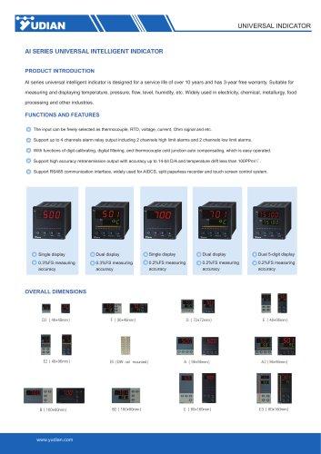 Yudian Universal Indicator AI-500/AI-501/AI-700/AI-701