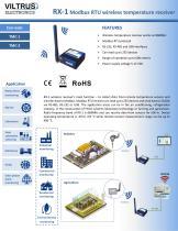 RX-1 Modbus RTU wireless temperature receiver