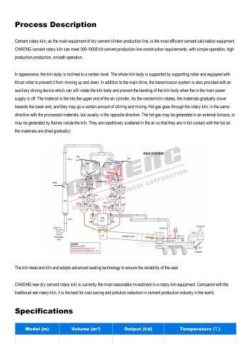 Cement rotary kiln,
