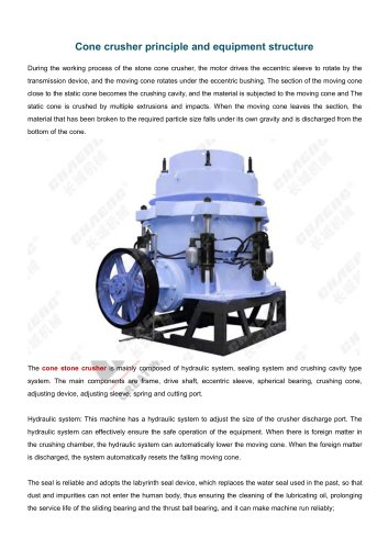 CHAENG+Cone Crusher+Mine Industry+High-reliability