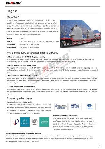Slag pot manufacturer-CHAENG