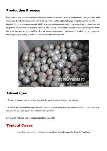 WEAR-RESISTANT STEEL BALL
