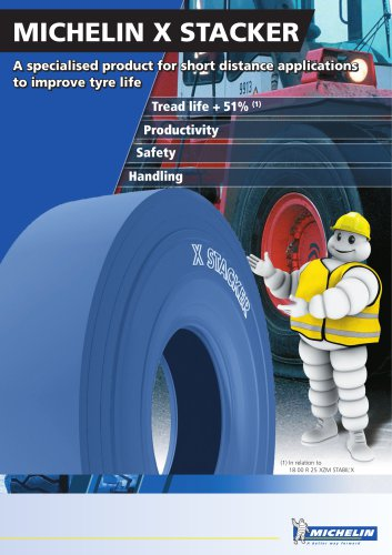 MICHELIN X STACKER