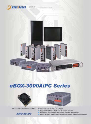 eBOX-3000AiPC Series