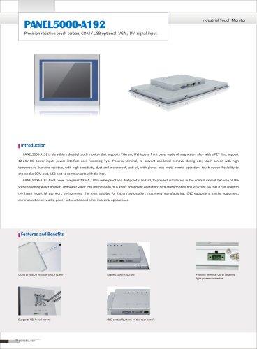 PANEL5000-A192 Datasheet
