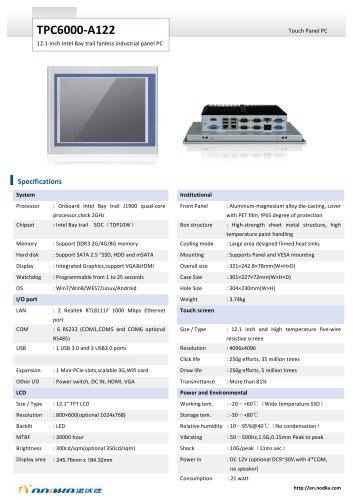 TPC6000-A122 Datasheet
