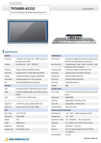 TPC6000-A2152 Datasheet