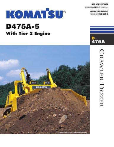 D475A-5 Crawler Dozer