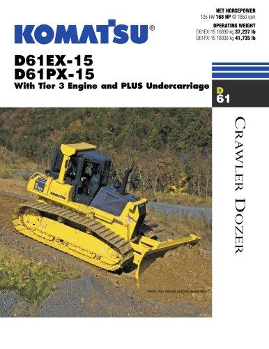 D61EX-15, D61PX-15