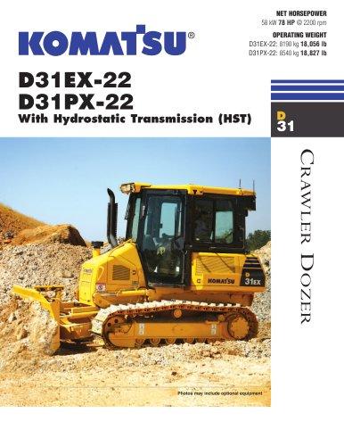 Dozers D31EX-22