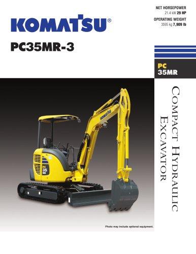 Excavators PC35MR-3