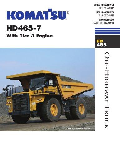 HD465-7 Off-Highway Truck