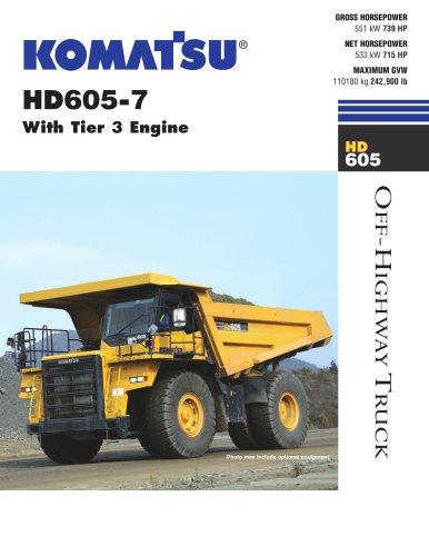HD605-7