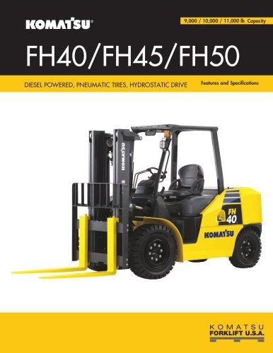 IC Pneumatic: FH Series - Hydrostatic Drive